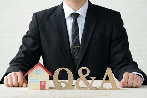 Vraag En Antwoord Over Huisvesting Stockfoto en meer beelden van Advies