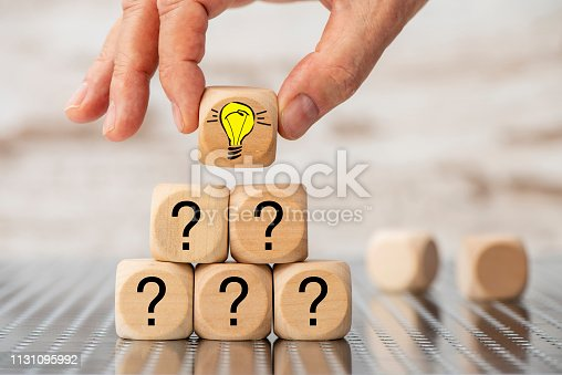 istock Question and answer as teamwork 1131095992