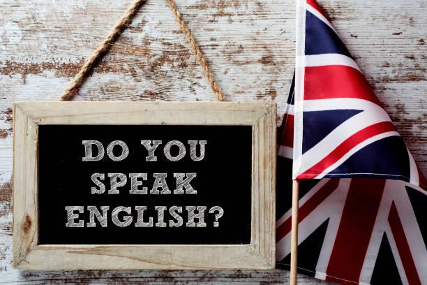 question parlez-vous anglais? - langue anglaise photos et images de collection