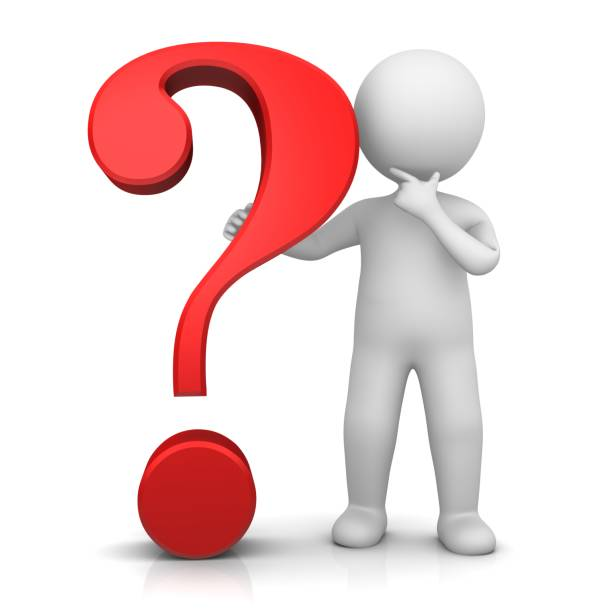Best Stick Figure Question Mark People Asking Stock Photos ...