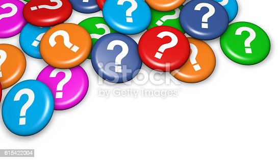 istock Question Mark Badges 615422004