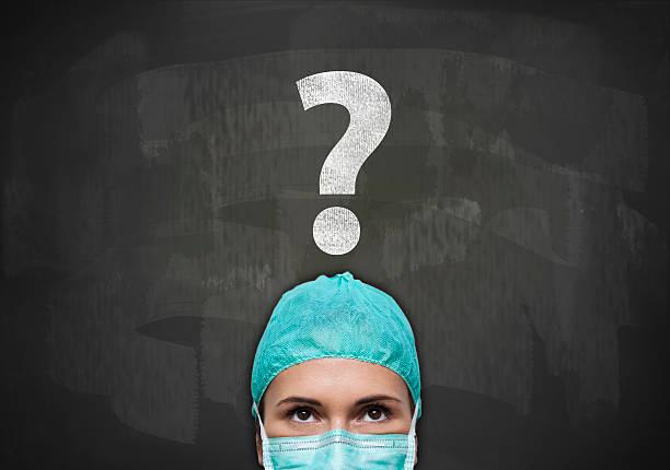 question mark / blackboard concept (click for more) - gesundheitsfragen stock-fotos und bilder