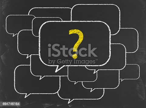 Blackboard Business Strategy Concept