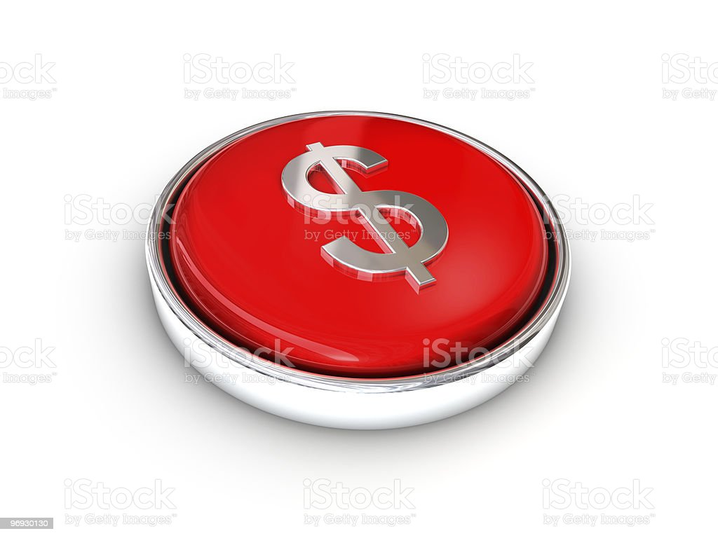 Question mark button royalty-free stock photo