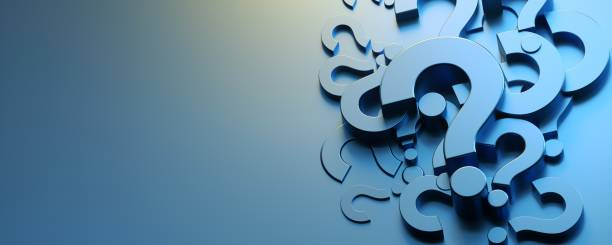 Question Mark Concept Question Mark Concept reflection stock pictures, royalty-free photos & images
