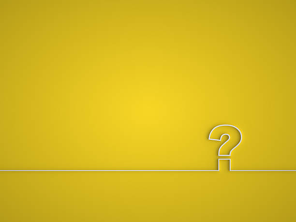 Question mark icon. stock photo