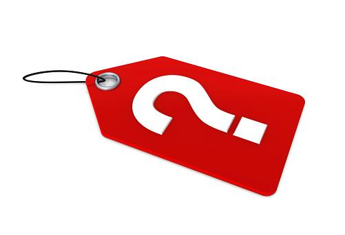 Clipart-Bild Schere schneiden eine Preisschild
