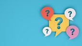 istock Question Mark on Speech Bubble 1205270037