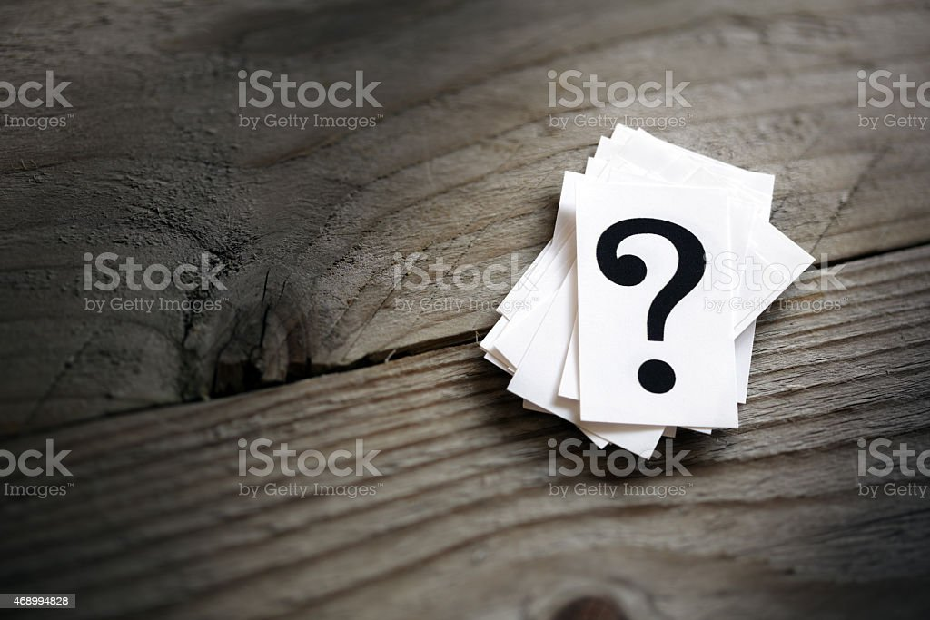 Question mark - Royalty-free 2015 Stock Photo