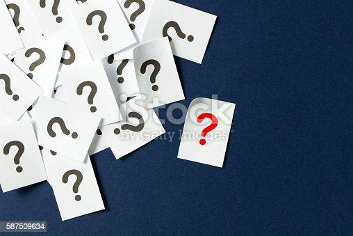istock Question mark 587509634
