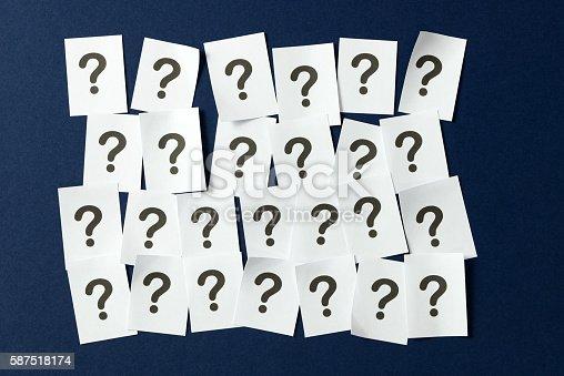 istock Question mark 587518174