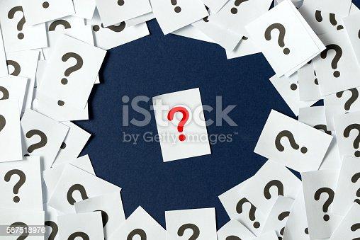 istock Question mark 587518976