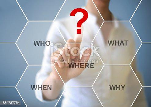 istock Question mark 684737754