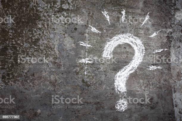 Fragezeichen Stockfoto und mehr Bilder von Abstrakt