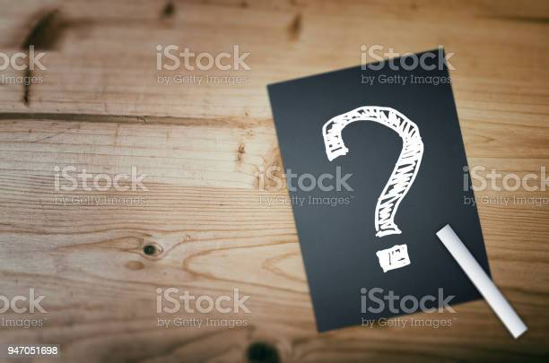 Question Mark Stock Photo - Download Image Now