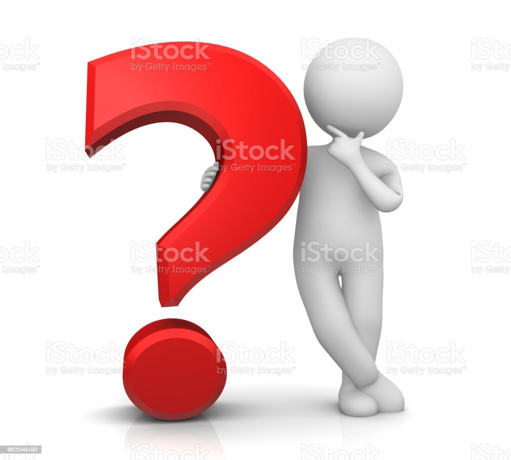 Question Mark Red 3d Interrogation Point Punctuation Mark Asking