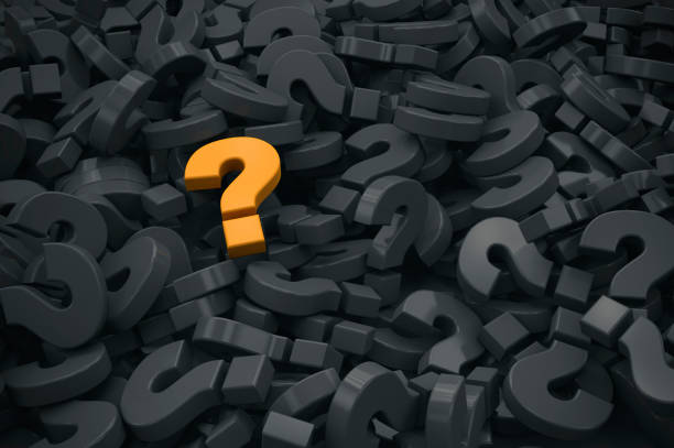 question mark sign.  faq, idea, question concept image on black - mphillips007 stock pictures, royalty-free photos & images
