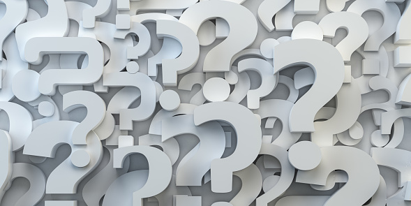 istock Question marks backround. FAQ, decision and confusion concept. 1096537392