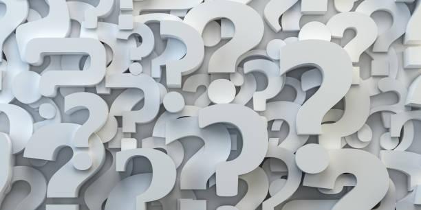 pontos de interrogação backround. conceito de faq, decisão e confusão. - question - fotografias e filmes do acervo