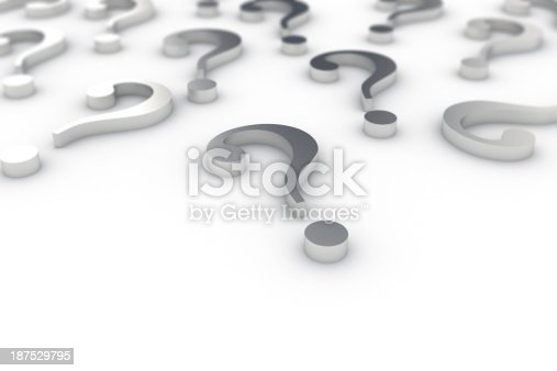 850704072 istock photo Question marks 187529795