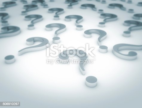 850704072 istock photo Question marks 506910267