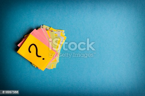 istock question marks written reminders tickets 816997588