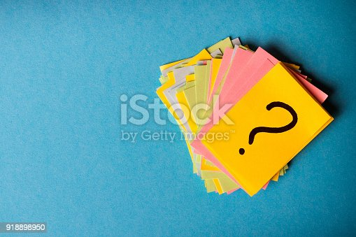 istock question marks written reminders tickets 918898950
