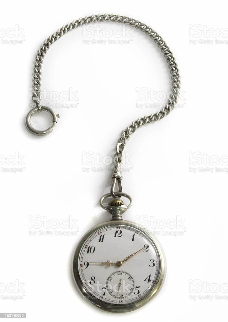 Question of time stock photo