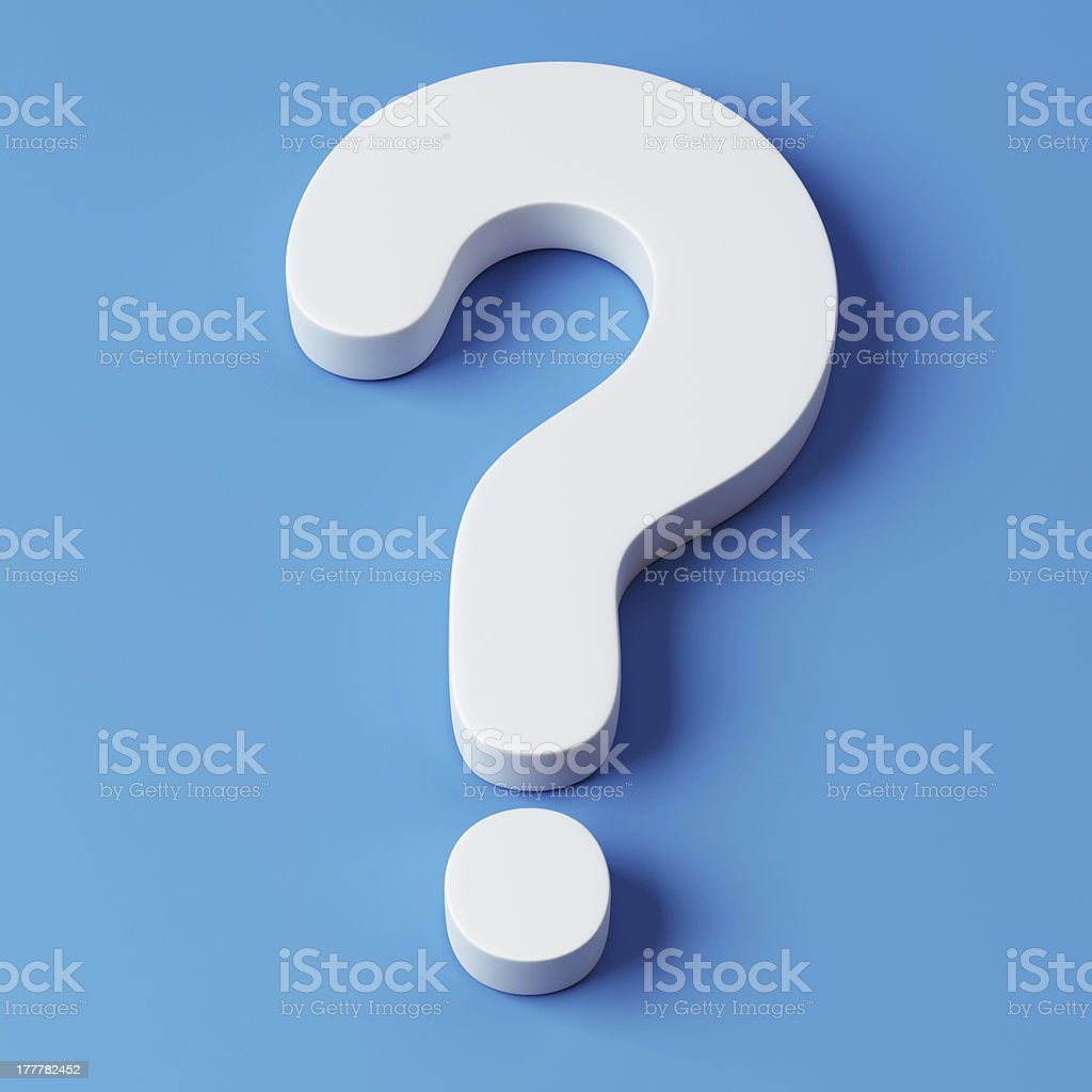 Question Symbol stock photo