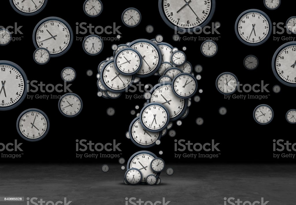 Question Time Concept stock photo