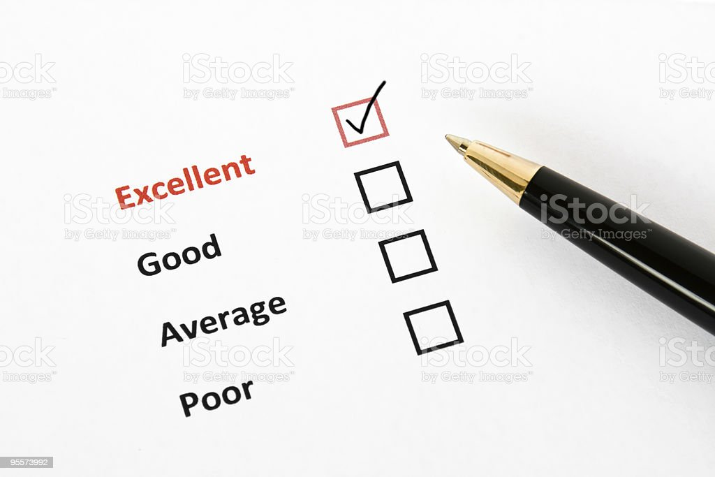 Questionnaire royalty-free stock photo