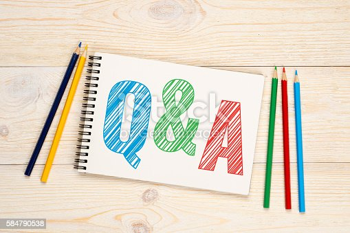 istock Q&A, questions and answers concept 584790538