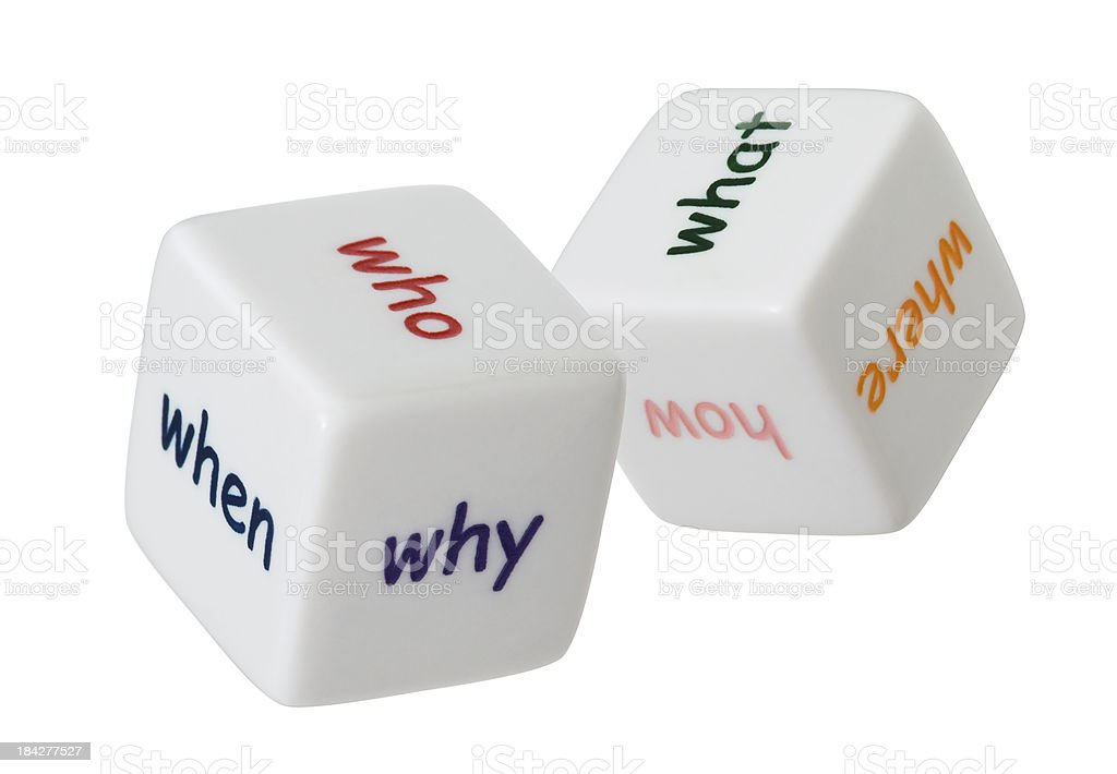 Questions concept stock photo