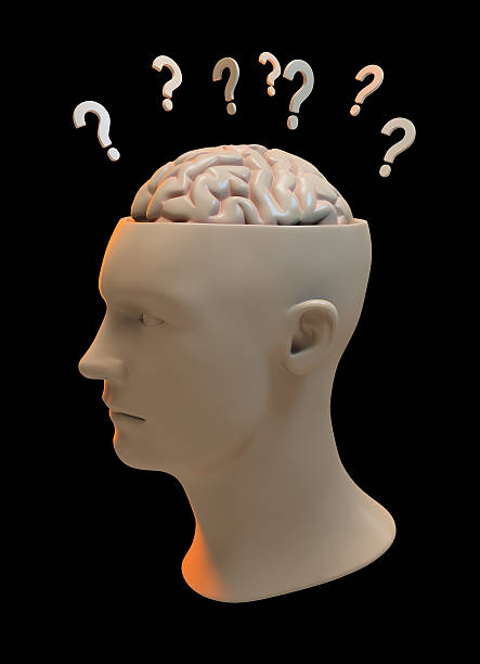Questions on my mind ... stock photo