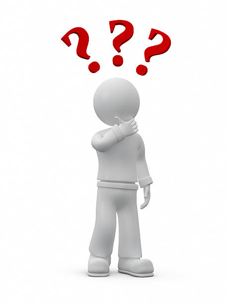 Questions. stock photo