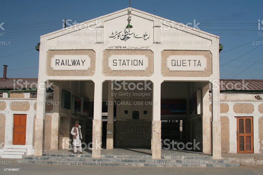 Quetta Bahnhof, Pakistan – Foto
