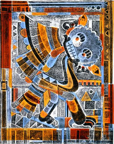 Quetzalcoatl - feathery dragon.