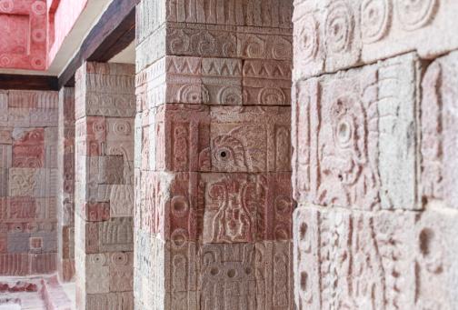 Quetzalpapalotl Palace. Teotihuacan, Mexico.