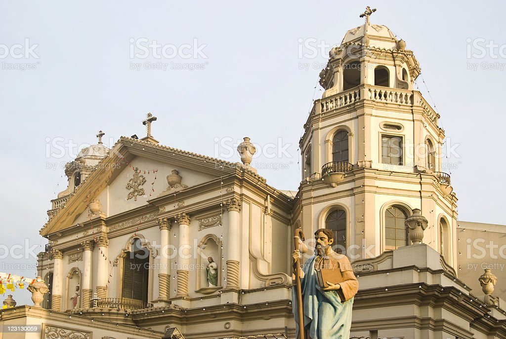 Quiapo Church royalty-free stock photo