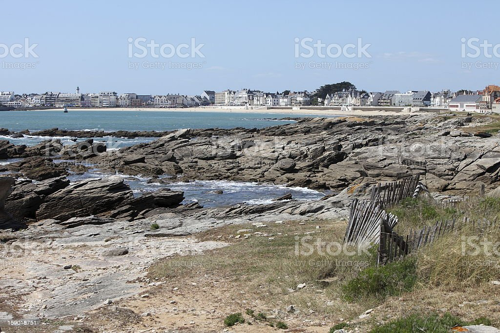 Quiberon, France stock photo