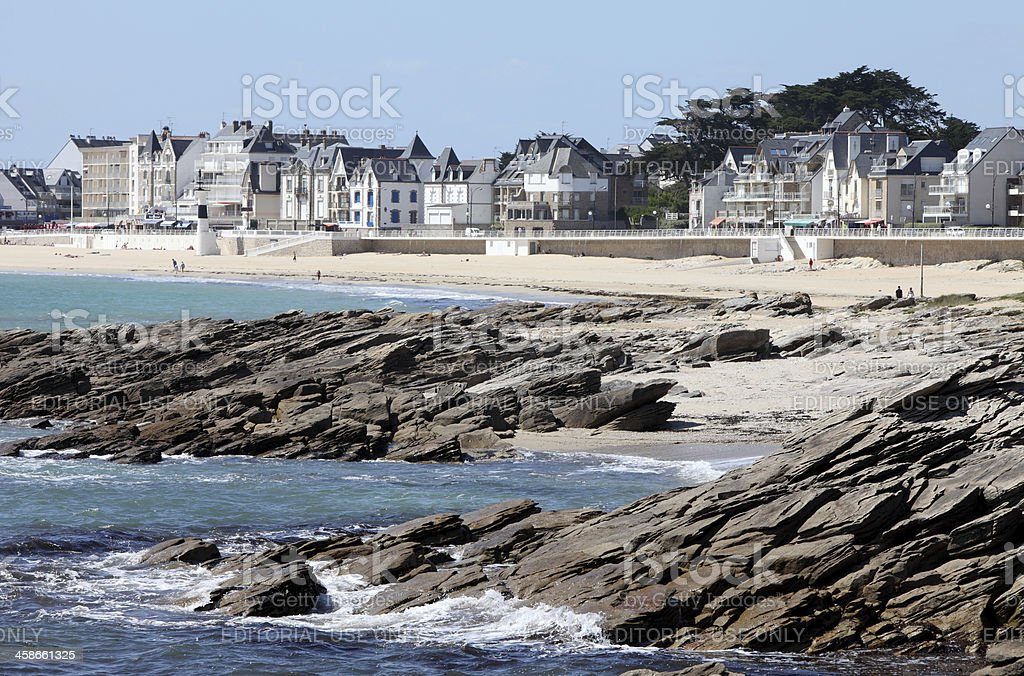 Quiberon, France royalty-free stock photo