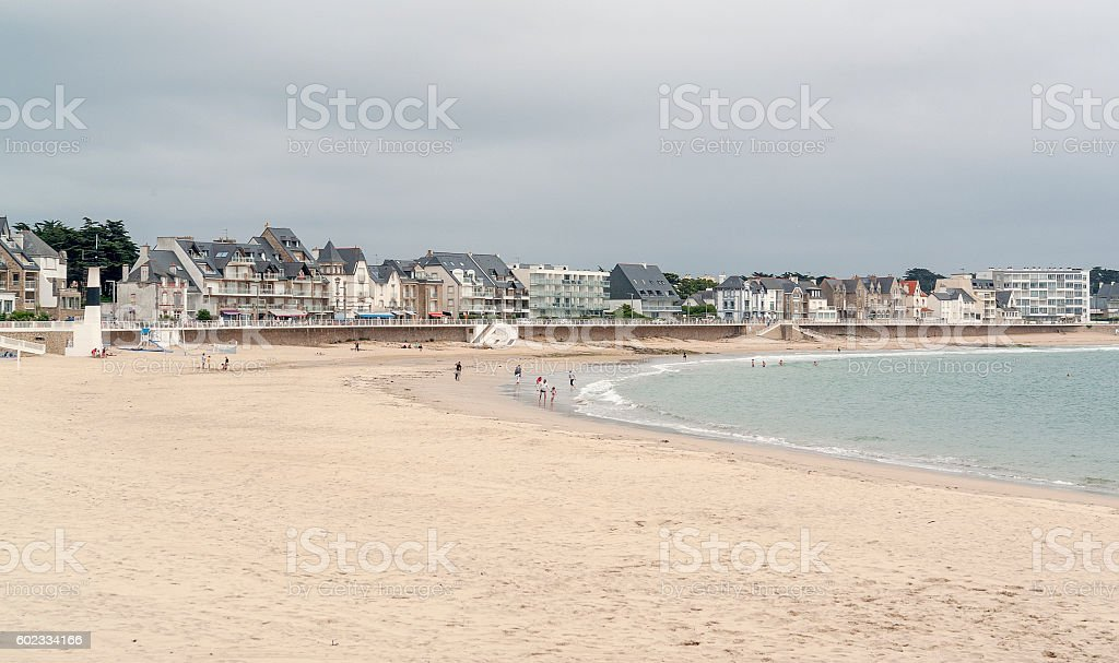 Quiberon in Brittany stock photo