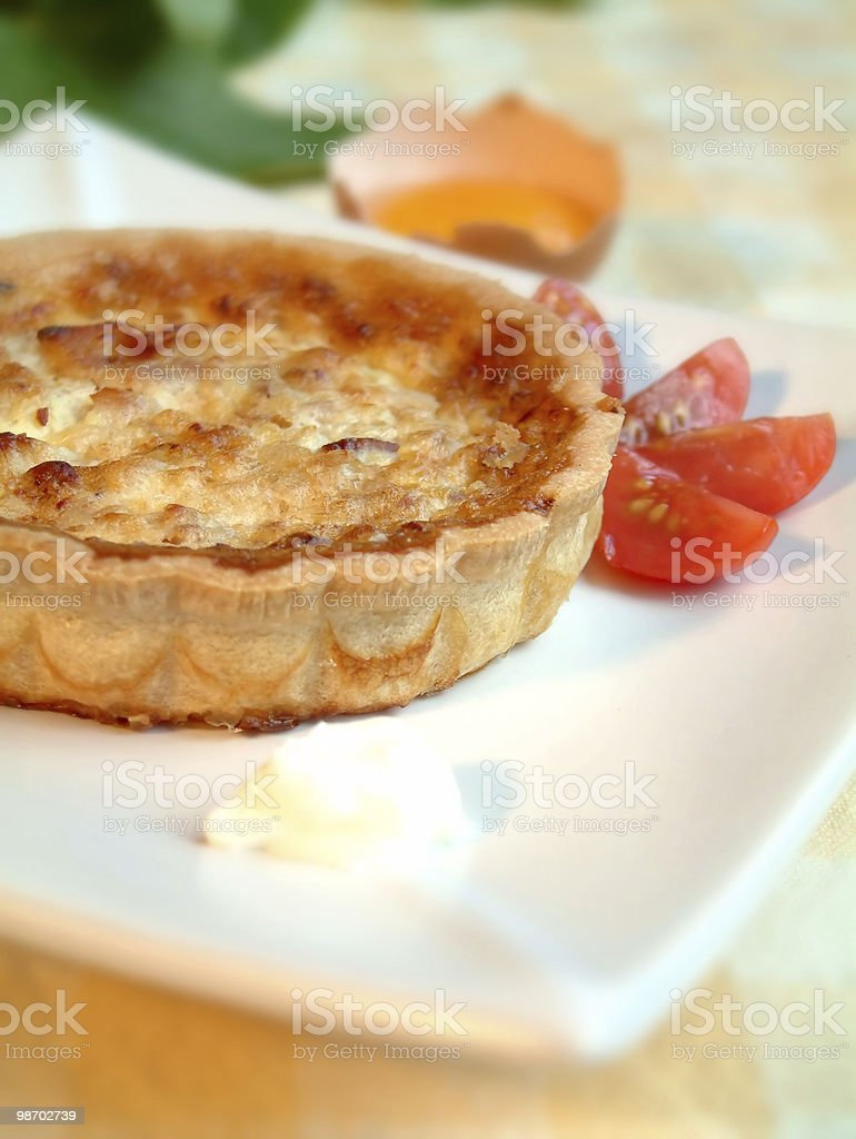 2 quiche foto stock royalty-free