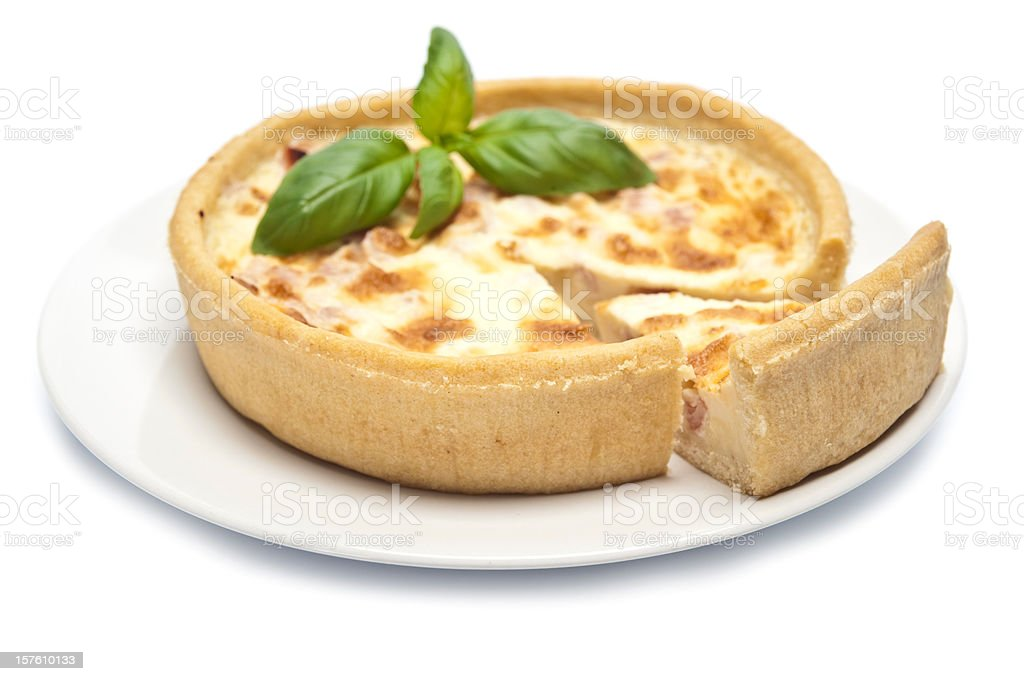 Quiche royalty-free stock photo