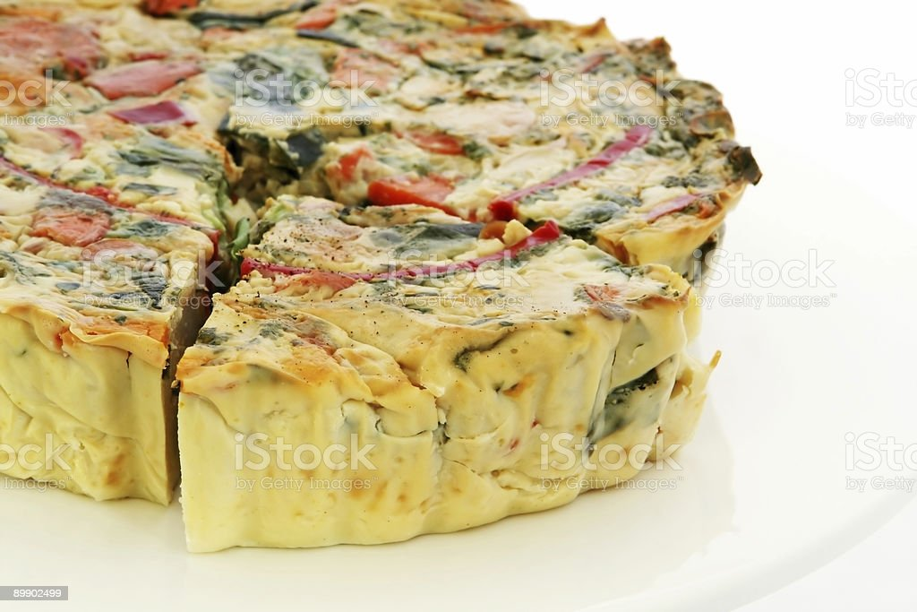 Quiche royalty free stockfoto