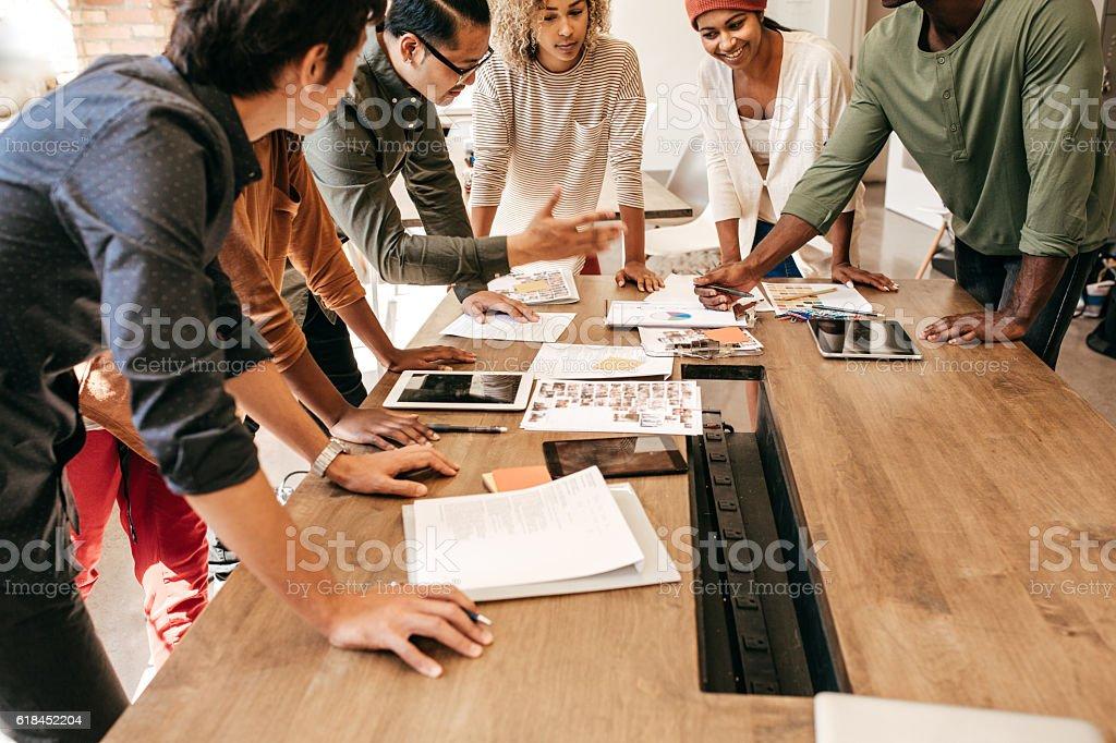 Quick planning stock photo