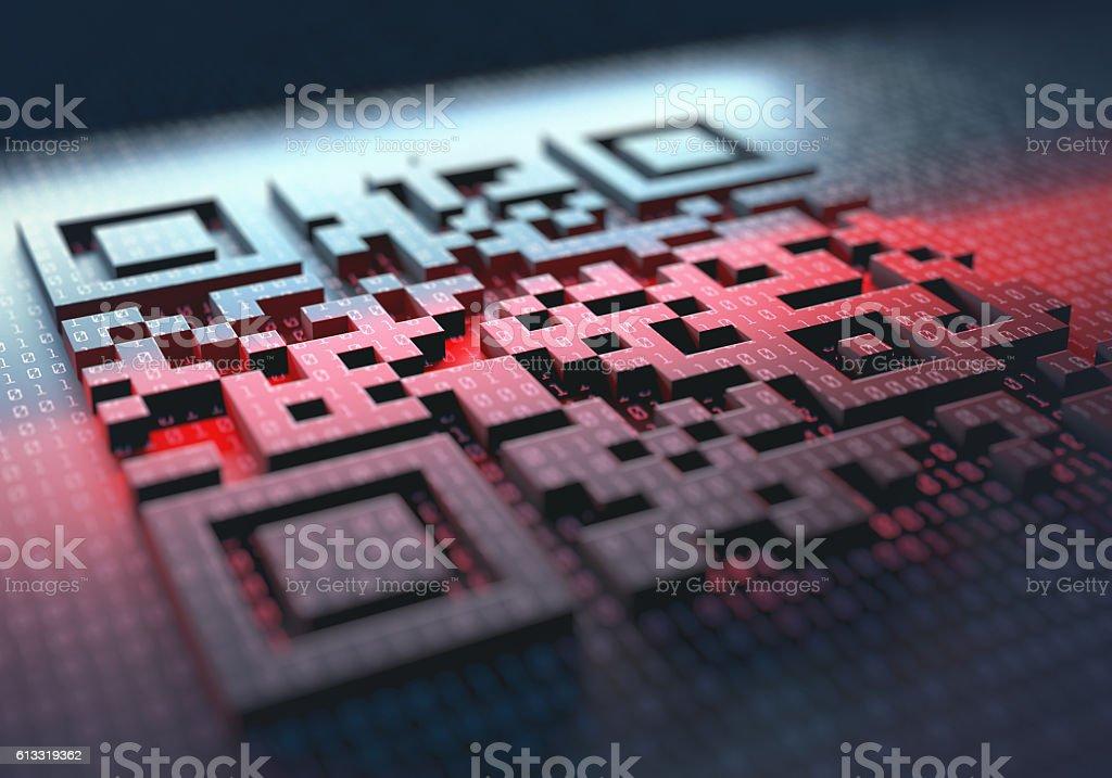 Schnelle Antwort-Code – Foto