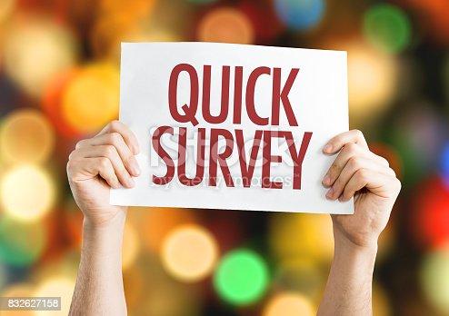 istock Quick Survey 832627158