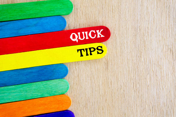 Quick Tips Business concept magic trick stock pictures, royalty-free photos & images