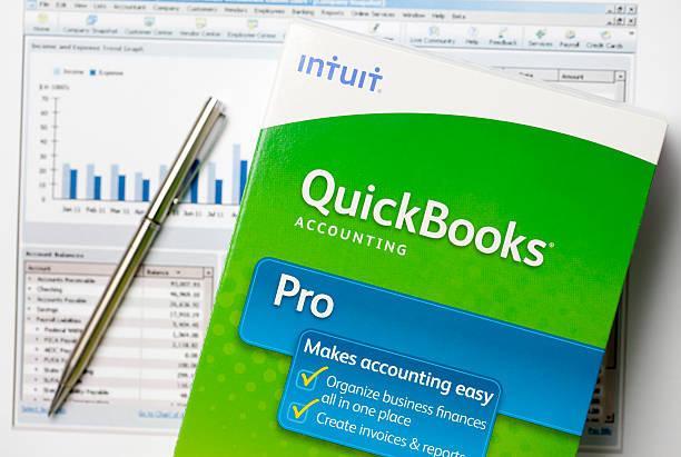 QuickBooks stock photo
